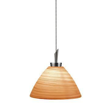 Jesco Lighting QAP125-BR/SN QAP125-COLLIN Quick Adapt-Low Voltage Pendant from Jesco Lighting