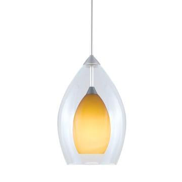 Jesco Lighting QAP218-AM/SN QAP218-ZARA Quick Adapt-Low Voltage Pendant from Jesco Lighting