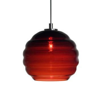 Jesco Lighting QAP751-WN/SN Quick adapt low voltage pendants-Beehave Small-Hand-blown from Jesco Lighting