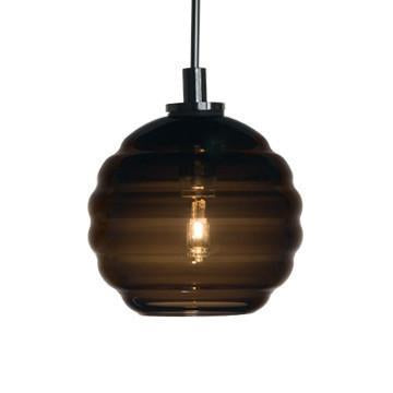 Jesco Lighting QAP753-CC/SN Quick adapt low voltage pendants-Beehave Large-Hand-blown from Jesco Lighting