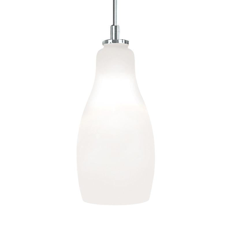 Jesco Lighting QAP771-WH/CH Quick adapt low voltage pendants-Bert-Hand-blown from Jesco Lighting