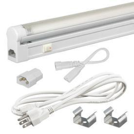 Jesco Lighting SG4A-CPS-24-30-W SLEEK PLUS ADJ 24W 3000K WHITE-3-WIRE 6' POWER CORD from Jesco Lighting