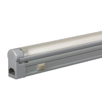 Jesco Lighting SG5A-28SW/30-SV 3-Wire Grounded; Adjustable T5 Sleek Plus-Fluorescent Undercabinet Fixture from Jesco Lighting