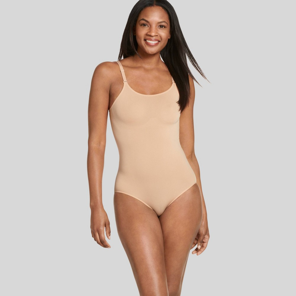 Jockey Generation Women's Body Concealer Brief Bodysuit - Nude L from Jockey Generation