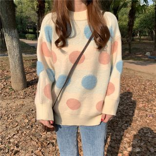 Dotted Sweater from Jolly Club