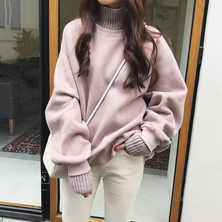 Mock Two-Piece Turtleneck Sweater from Jolly Club