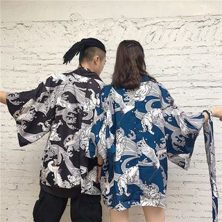 Printed Kimono Jacket from Jolly Club