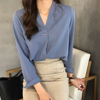 V-Neck Blouse from Jolly Club