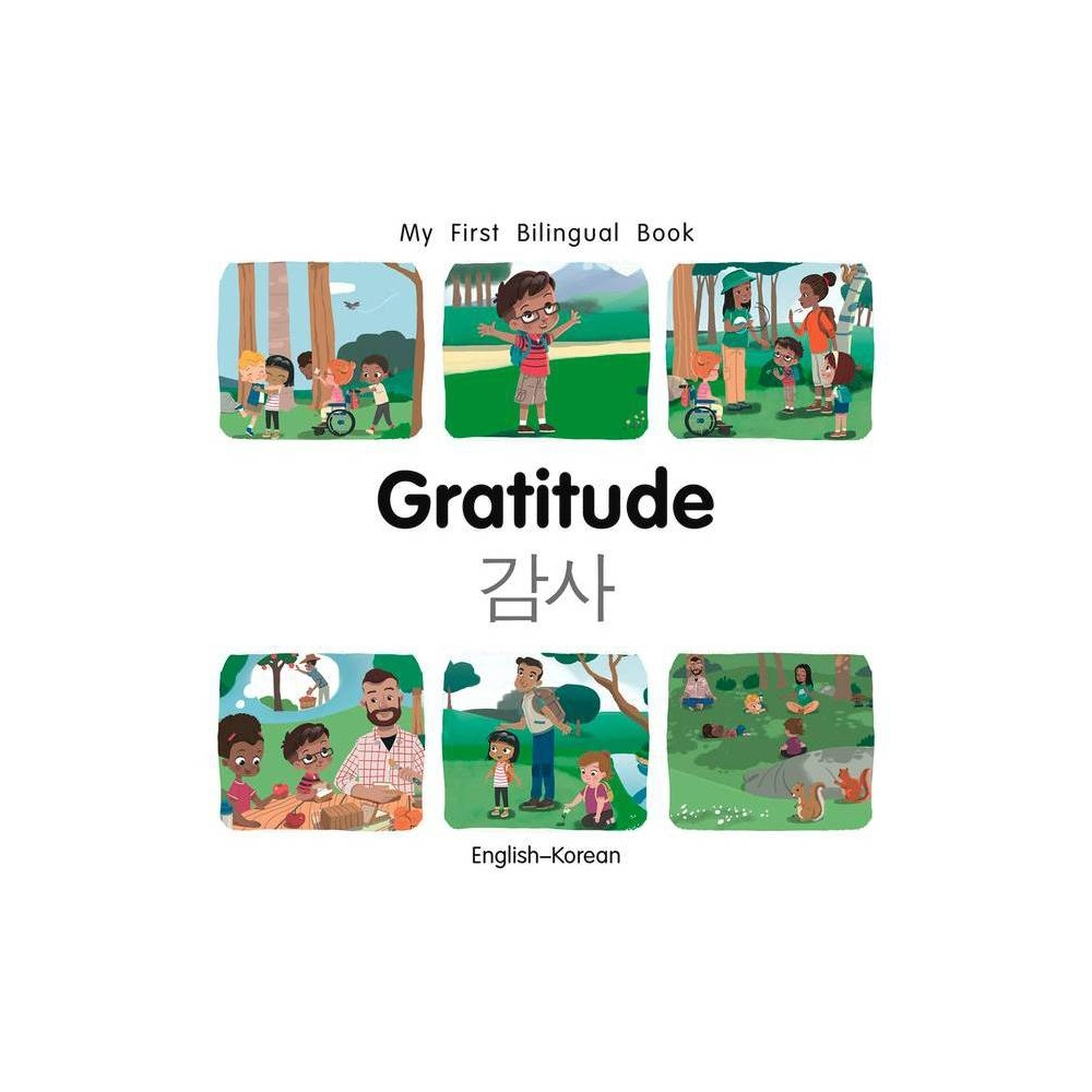 My First Bilingual Book-Gratitude (English-Korean) - by Patricia Billings (Board Book) from Jordan
