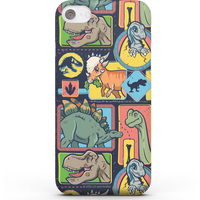 Jurassic Park Cute Dino Pattern Phone Case for iPhone and Android - Samsung S7 Edge - Snap Case - Gloss from Jurassic Park