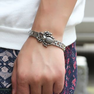 Alloy Spider Bracelet White - One Size from KINNO