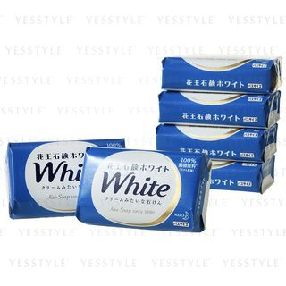 Kao - Bar Soap (White) Set 130g x 6 from Kao