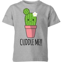 My Little Rascal Cuddle Me Cactus Kids' T-Shirt - Grey - 11-12 Years - Grey from My Little Rascal