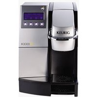 "K3000SE Commercial Brewer, 12""w x 18""d x 17 2/5"", Silver/Black from Keurig"