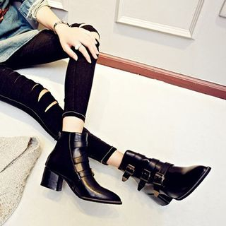 Buckled Ankle Boots from Kireina