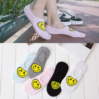 Smiley Low Socks from Knitika