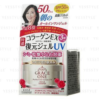 Kose - Grace One Perfect Gel Cream UV 100g from Kose