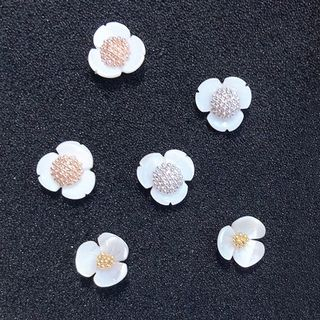 925 Sterling Silver Flower Stud Earring from Kulala