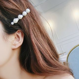 Faux Pearl Hair Clip (various designs) from Kulala