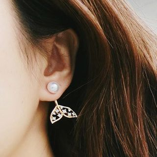 Mermaid Tail Ear Stud from Kulala