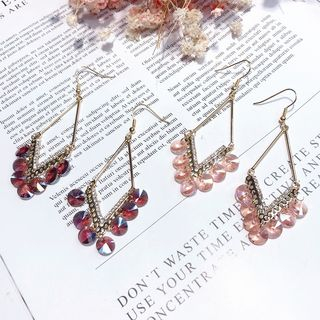 Rhinestone Drop Earring from Kulala