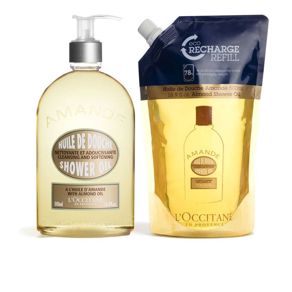 Almond Shower Refill Duo from L'OCCITANE