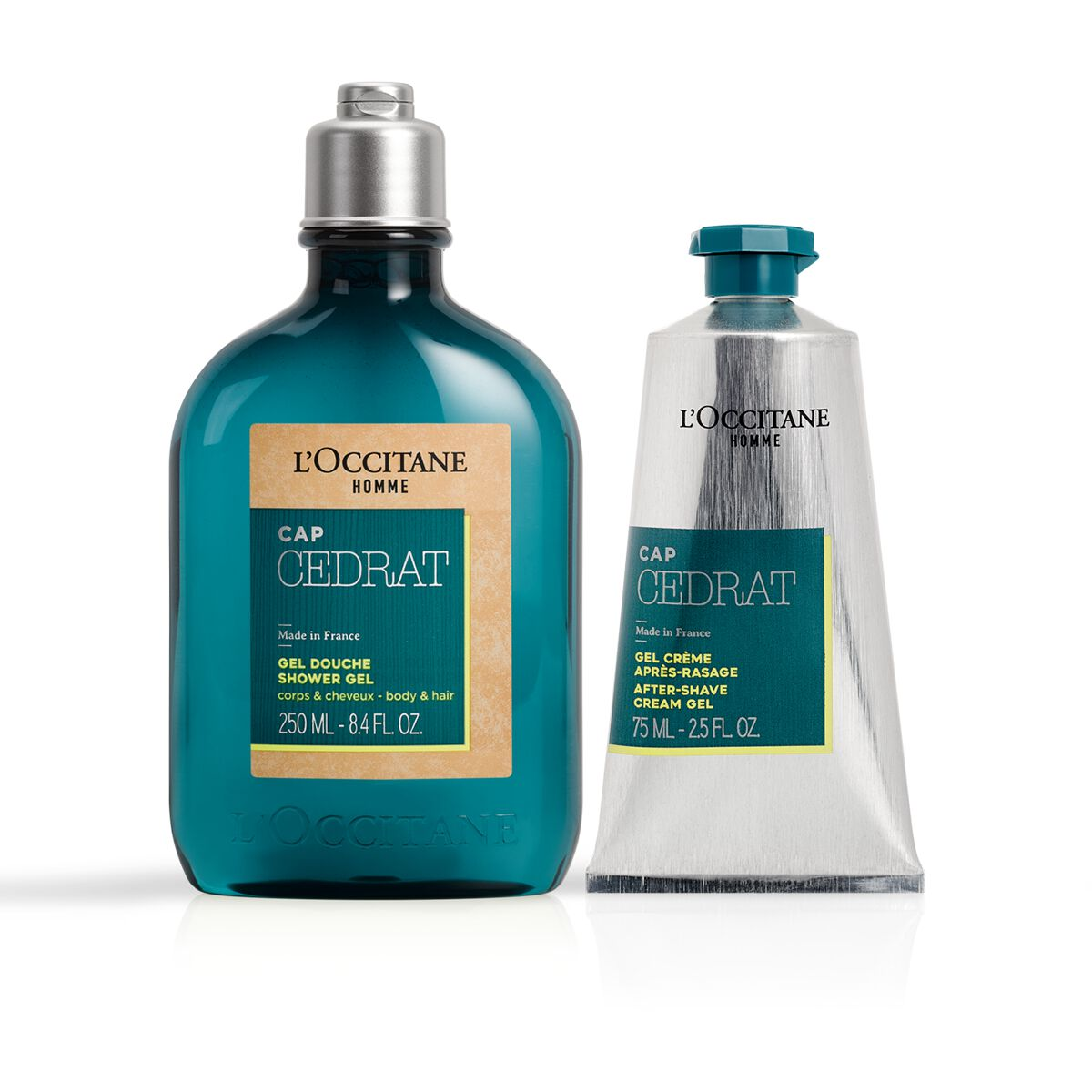 Cap Cedrat Shower and After-Shave Duo from L'OCCITANE
