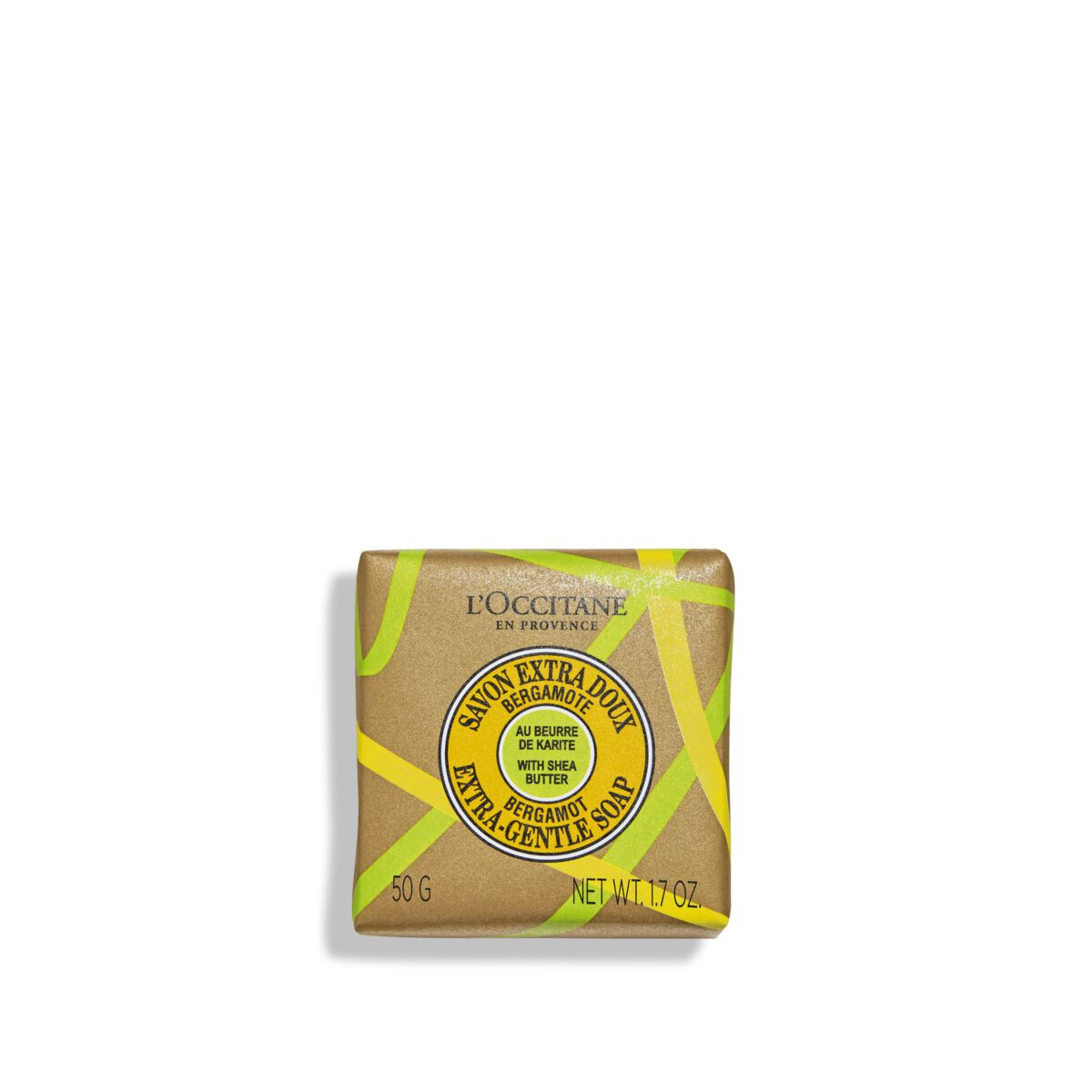 Shea Butter Bergamot Extra-Gentle Soap 1.7 oz. from L'OCCITANE