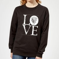 Anatomic Love Women's Sweatshirt - Black - XL - Black from The Valentines Collection