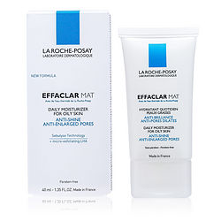 La Roche Posay by La Roche Posay Effaclar Mat Daily Moisturizer (New Formula, For Oily Skin) -/1.35OZ for WOMEN from La Roche Posay