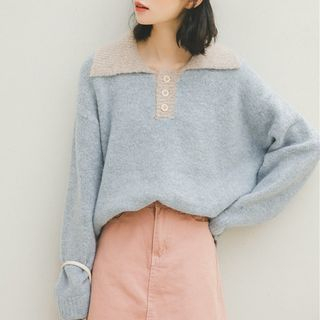 Collared Sweater from Lady Jean
