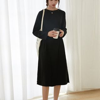 Long-Sleeve A-Line Dress from Lady Jean