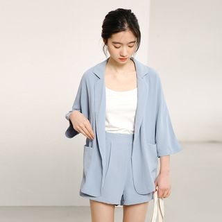 Set: Light Blazer + Dress Shorts from Lady Jean