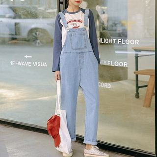 Straight Fit Denim Dungaree from Lady Jean