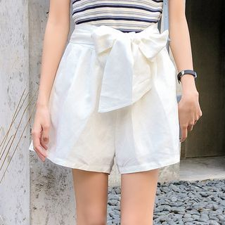 Tie Waist Shorts from Lady Jean