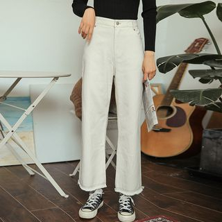 Wide-Leg Jeans from Lady Jean