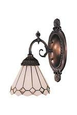 Landmark 071-TB-04 Mix-N-Match One Light Sconce in Tiffany Bronze from Landmark Lighting