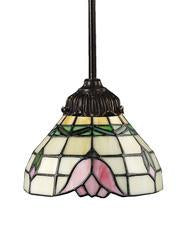 Landmark 078-TB-09 Mix-N-Match One Light Pendant in Tiffany Bronze from Landmark Lighting