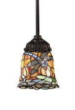 Landmark 078-TB-12 Mix-N-Match One Light Pendant in Tiffany Bronze from Landmark Lighting