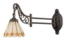 Landmark 079-TB-05 Mix-N-Match One Light Swingarm Sconce in Tiffany Bronze from Landmark Lighting