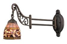 Landmark 079-TB-13 Mix-N-Match One Light Swingarm Sconce in Tiffany Bronze from Landmark Lighting