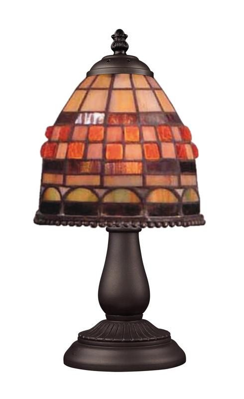 Landmark 080-TB-10 Mix and Match Section Tiffany Bronze Table Lamp from Landmark Lighting