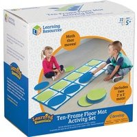 Learning Resources 10-frame Floor Mat Activity Set from Learning Resources