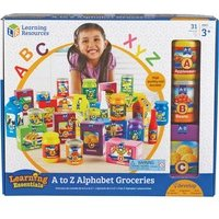 Learning Resources A-Z Alphabet Groceries Activity Set from Learning Resources