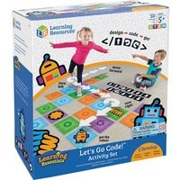 Learning Resources Ages 5+ Let's Go Code Activity Set from Learning Resources