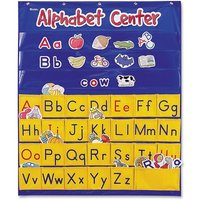 Learning Resources Alphabet Center Pocket Chart from Learning Resources