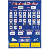 Learning Resources Calendar/Weather Pocket Chart from Learning Resources