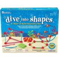 Learning Resources Dive Shapes Sea/Build Geometry Set from Learning Resources