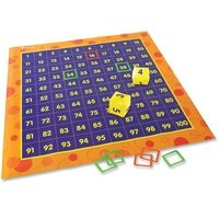 Learning Resources Hip Hoppin' Hundred Mat Floor Game from Learning Resources