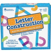 Learning Resources Letter Construction Activity Set from Learning Resources